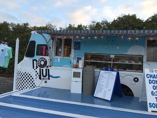Seacrest Beach, فلوريدا: Charlie's Donut Truck