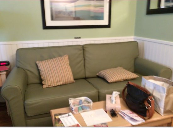 Holly Tree Resort: Pull-out couch