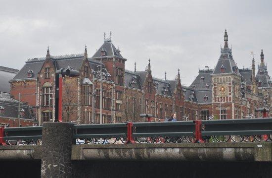 Photo of Train Station Station Amsterdam Centraal at Stationsplein 15, Amsterdam 1012 AB, Netherlands