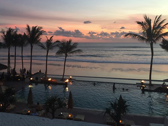 The Legian Bali : Early evening from our room