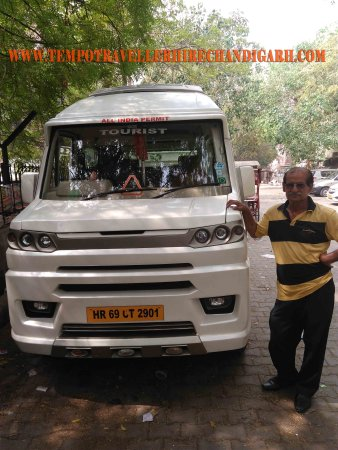 Tempo Traveller Hire Chandigarh
