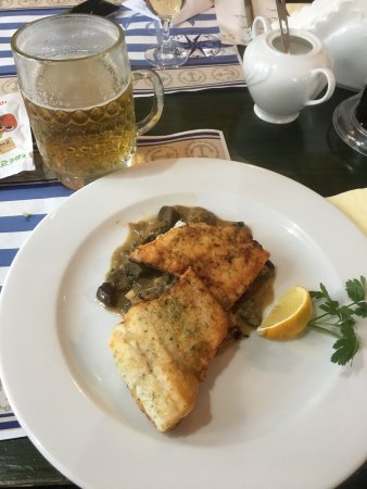 Olsztyn, Poland: Fish and tripe soup. They are good hier.