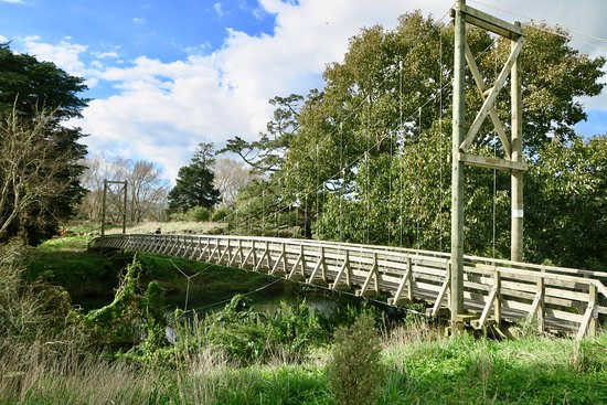 Thames, New Zealand: Bridge near Waihi