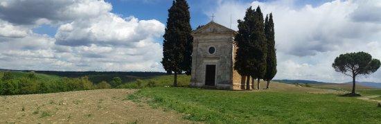 Pienza, อิตาลี: Capella di Vitaleta