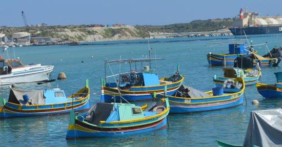 Marsaxlokk, Malta: Good place to take photos