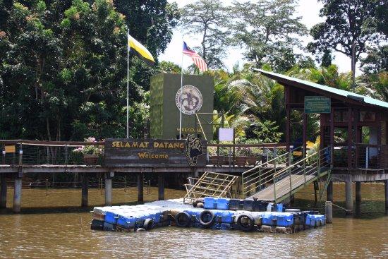 Semanggol, Malaysia: Entrance to the island