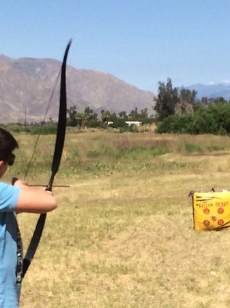Cathedral City, CA: One of the activities available for the kids