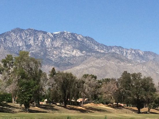 Cathedral City, CA: View from our apartment