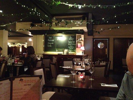 Restaurant interior picture of annies manchester