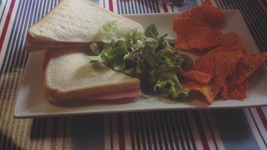 Tywyn, UK: freshly made sandwiches