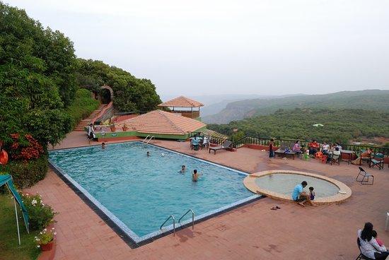 Pool Area Picture Of Ramsukh Resorts Spa Mahabaleshwar Tripadvisor