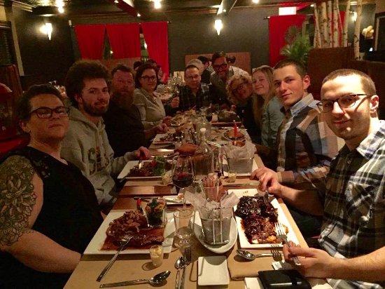 Bromont, Canadá: Merci pour cette très belle soiree bonne fête encore Judith hate de vous revoir gangs xxxx