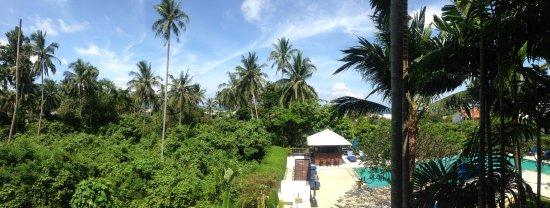 Lamai Buri Resort: Вид с балкона