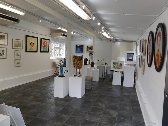 Dartington, UK: Inside The Mason-Laurence Gallery