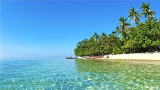Candelaria, Philippines: Clear water