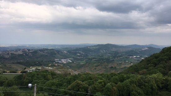 Murata, San Marino: View from the room!