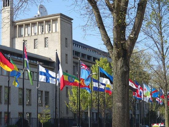 World Forum The Hague : JOHAN DE WITT-LAAN BIJ WORLD FORUM