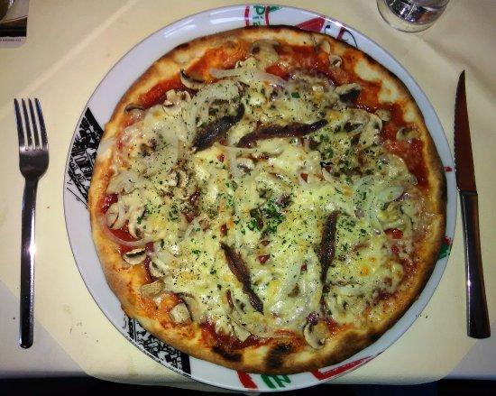 Korbach, Alemania: Die Pizza