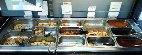 Butzbach, Tyskland: Das gute Buffet
