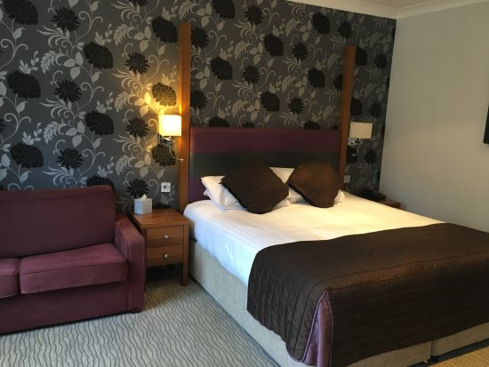 Bedford Swan Hotel: Comfortable bed