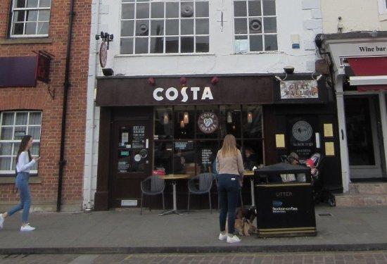 Yarm, UK:  Costa
