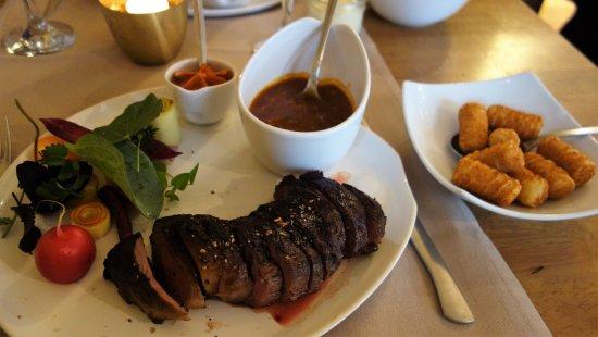 Alveringem, Bélgica: restaurant