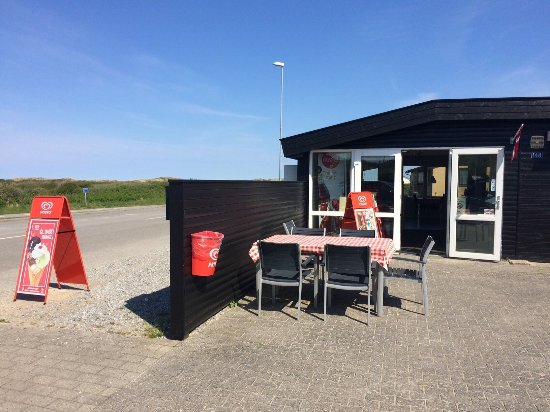 Fjerritslev, Denmark: Havkiosken på Slettestrand