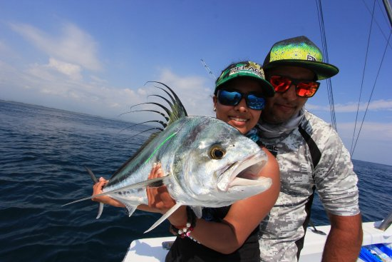 Rooster fish tagged and released picture of jackpot for Rooster fish pictures