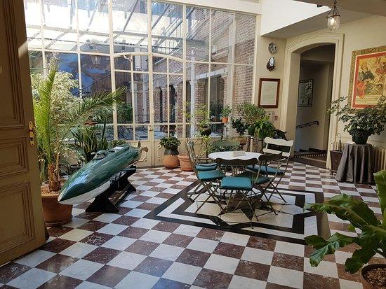 Le jardin d 39 hiver picture of maison de jules verne for Le jardin d hiver