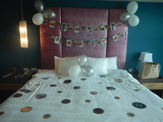 Birthday Room Surprise Picture Of Hard Rock Hotel Cancun Cancun