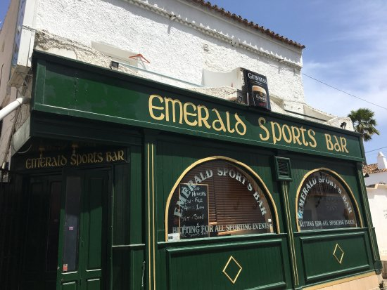 ‪‪San Pedro de Alcantara‬, إسبانيا: Joeys Emerald Bar!‬