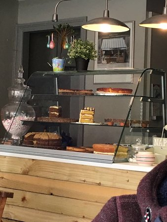 Stokesley, UK: Fab little place, with really good coffee, gorgeous homemade cakes and delicious ice cream!