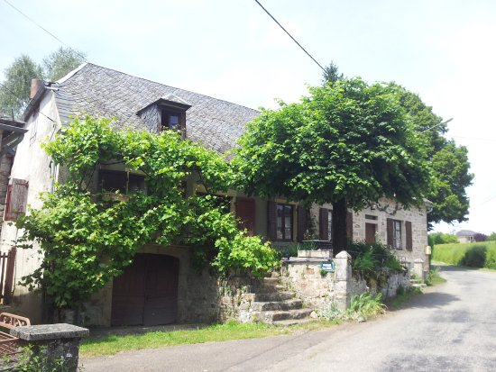 Saint-Martial de Gimel, Fransa: la maison de famille du domaine
