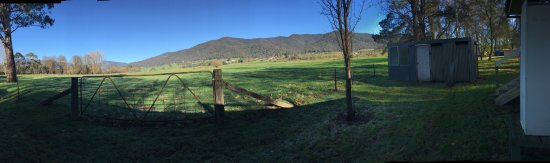 Tawonga, Australia: view from the back of the cottage