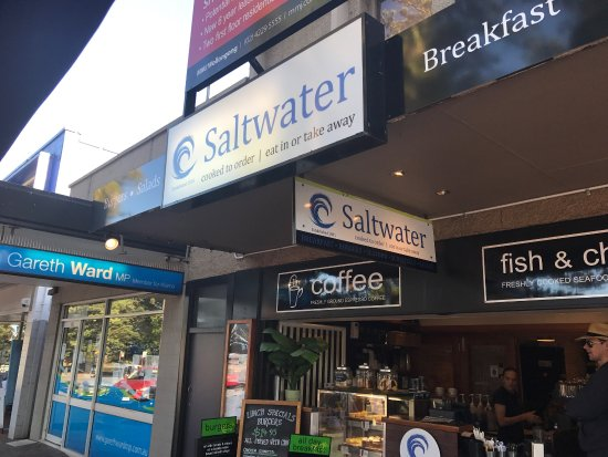 Kiama, Australia: Saltwater