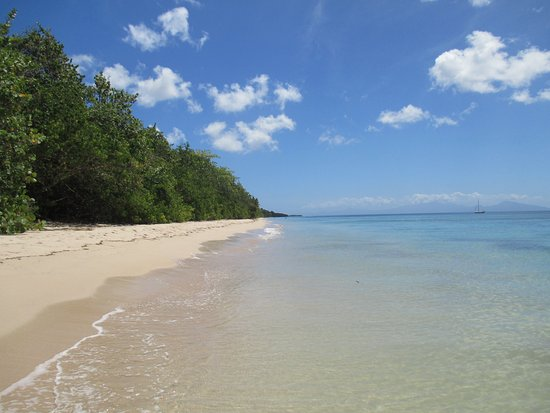 Marie-Galante, Guadalupe: la plage folle anse