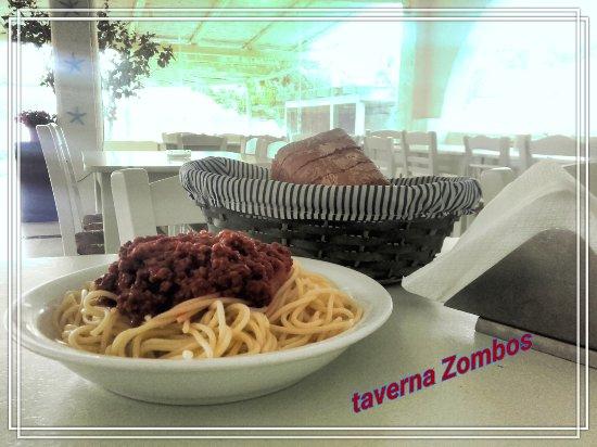 Agios Georgios, Greece: Spaghetti Bolognaise!!!!