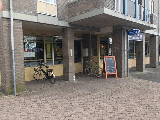 Maarssen, The Netherlands: Ingang restaurant