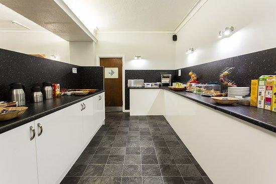The Glendeveor: Self Service Area in Breakfast Room