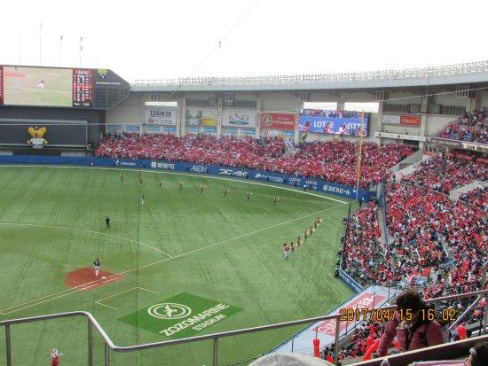 Chiba Marine Stadium: 7回裏
