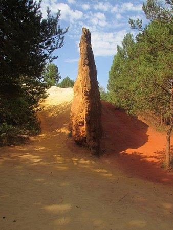 Banon, Frankrig: le colorado provençal / les ocres