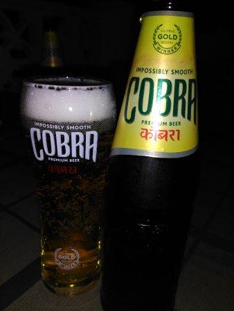 Pozo de los Frailes, Spanien: Cerveza India ¨Cobra¨