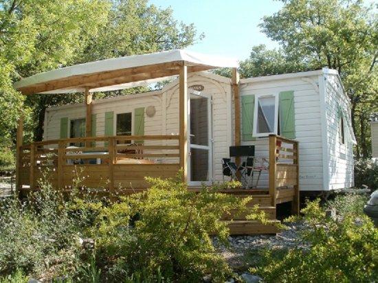 Camping Caravaning Epi Bleu : Mobil-home 32m² / 6pers