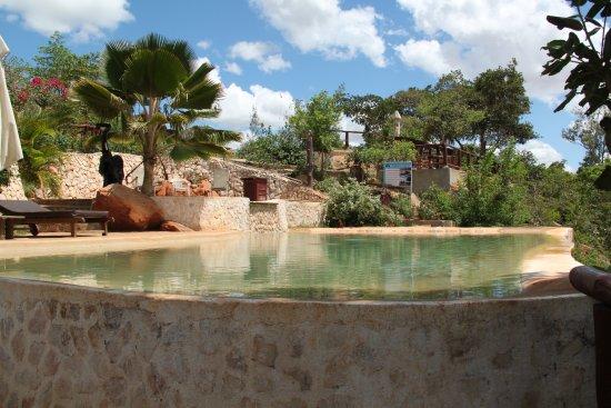 Infinity pool Picture of Shimba Green Lodge Mombasa TripAdvisor