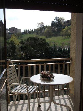 Hotel Tirrenia: panorama dalla camera
