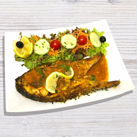 Leigh, UK: Grilled Grouper