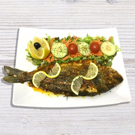 Leigh, UK: Grilled Sea Bream