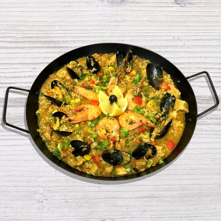 Leigh, UK: Our Paella