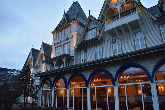 Муниципалитет Восс, Норвегия: Hotel front.