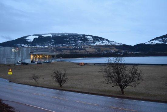Муниципалитет Восс, Норвегия: View from our room.